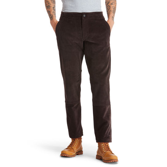 Profile Lake Trousers for Men in Dark Brown | Timberland