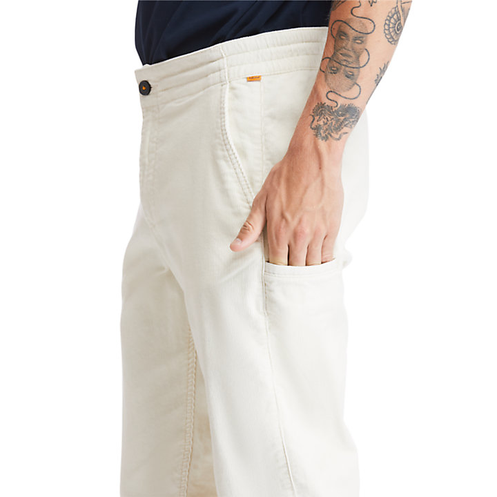 Profile Lake Trousers for Men in Beige-