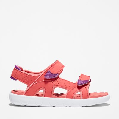 Perkins+Row+2-Strap+Sandal+for+Youth+in+Pink