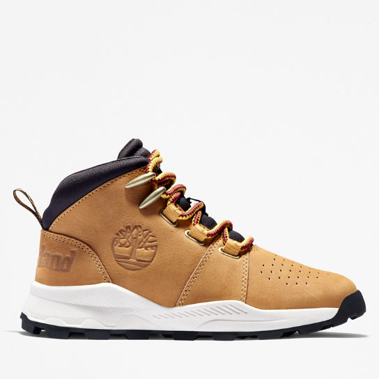 Sneaker Stringata da Bambino (dal 30,5 al 35) Brooklyn in marrone | Timberland