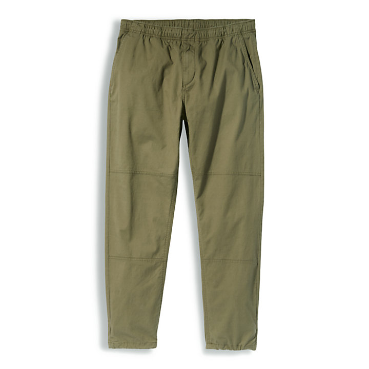 Field Trip Joggers for Men in Green-