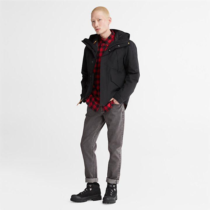 Sargent Lake Washed Jeans for Men in Dark Grey-
