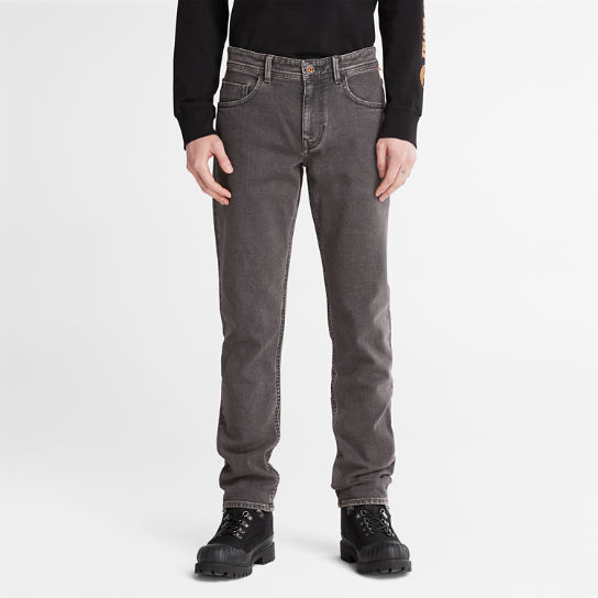 Sargent Lake Washed Jeans for Men in Dark Grey | Timberland