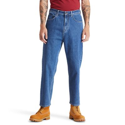 Webster+Lake+klassische+Stretch-Jeans+f%C3%BCr+Herren+in+Navyblau