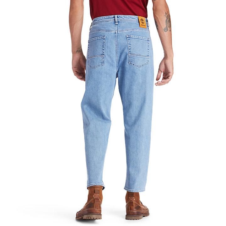Webster Lake klassische Stretch-Jeans für Herren in Hellblau-