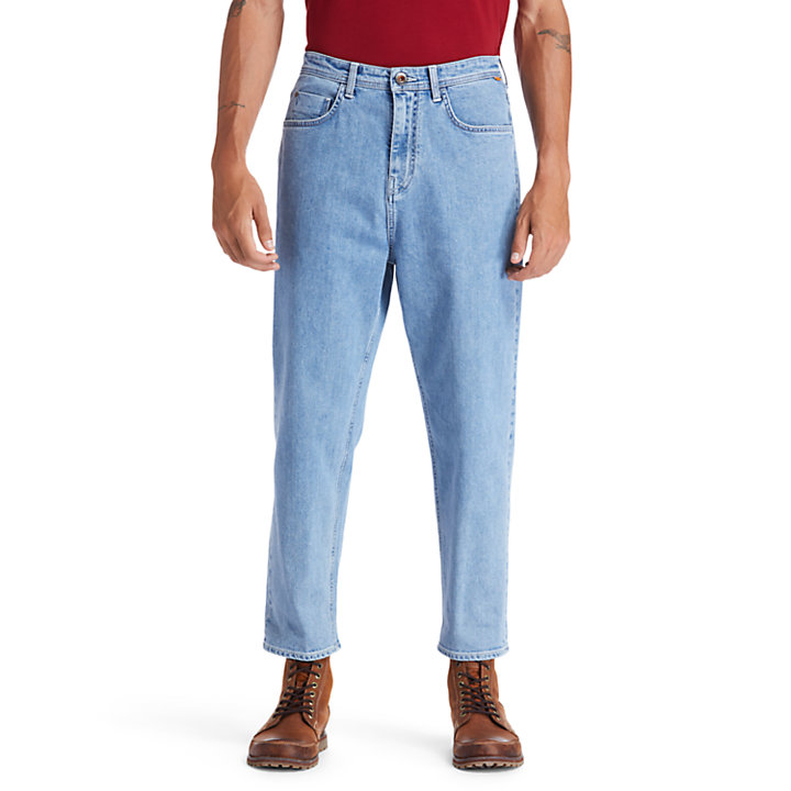 Webster Lake Classic Stretch Jeans for Men in Light Blue-