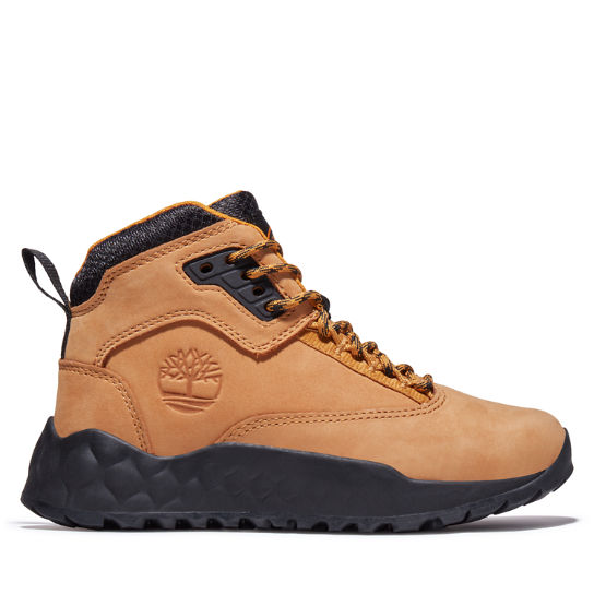 Solar Wave Hiker Boot for Youth in Yellow | Timberland