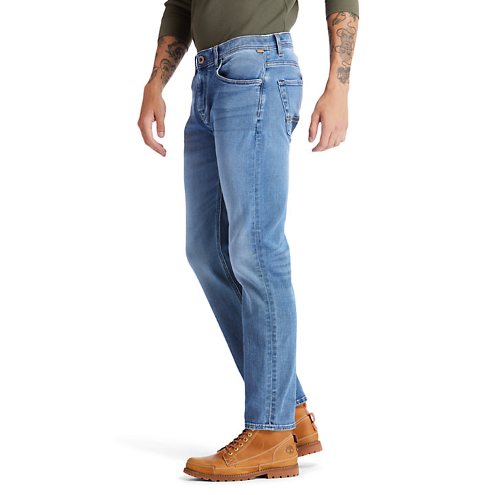 Tacoma Stretch Jeans for Men in Blue-
