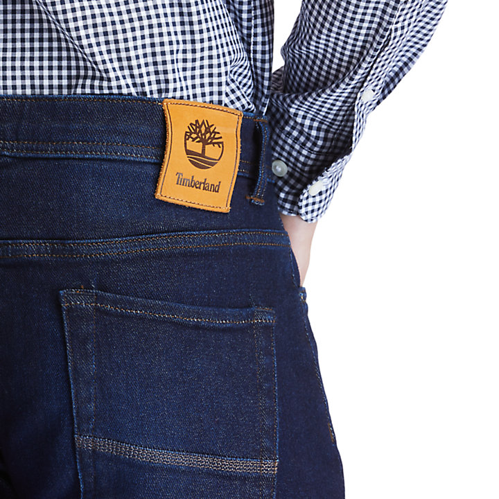 Tacoma Stretch Jeans for Men in Dark Blue-