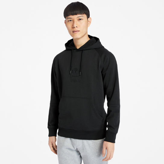 Heavyweight Logo Hoodie for Men in Black | Timberland