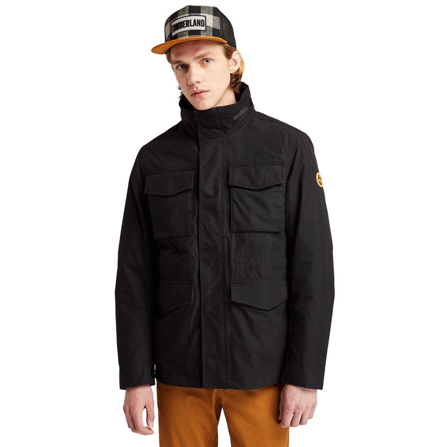 Timberland Snowdon Peak 3-in-1 M65 Jacket For Men In Black Black, Size XL
