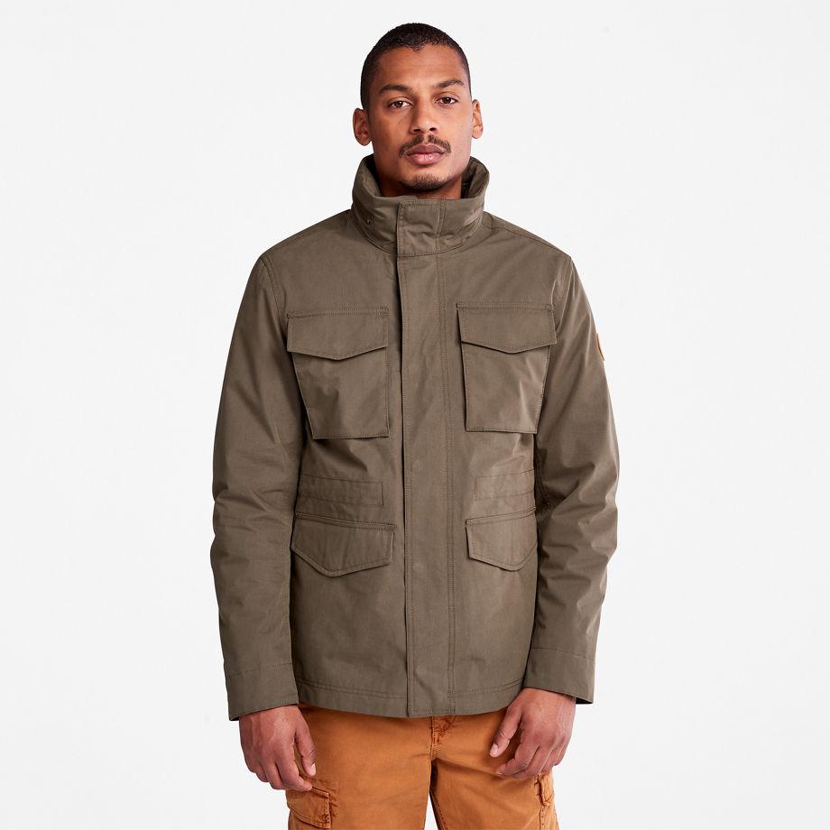 Timberland Snowdon Peak 3-in-1 M65 Jacket For Men In Dark Green Green, Size S