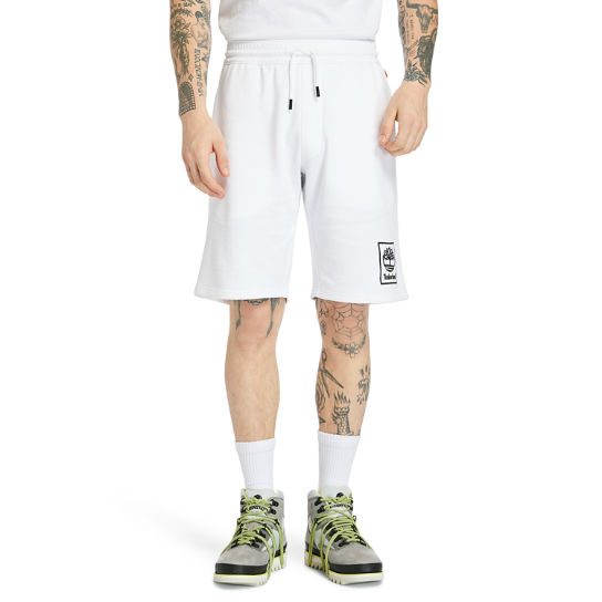 Summer Sweatshorts for Men in White | Timberland