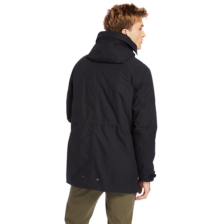 Snowdon Peak 3-in-1 Parka for Men in Black-