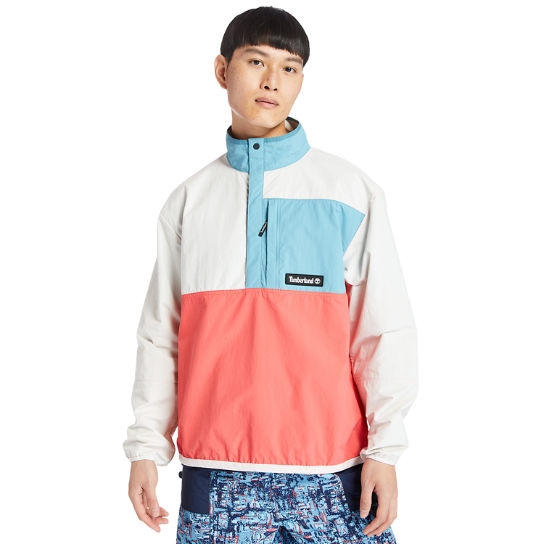 Outdoor Archive Anorak in Men in White/Red | Timberland