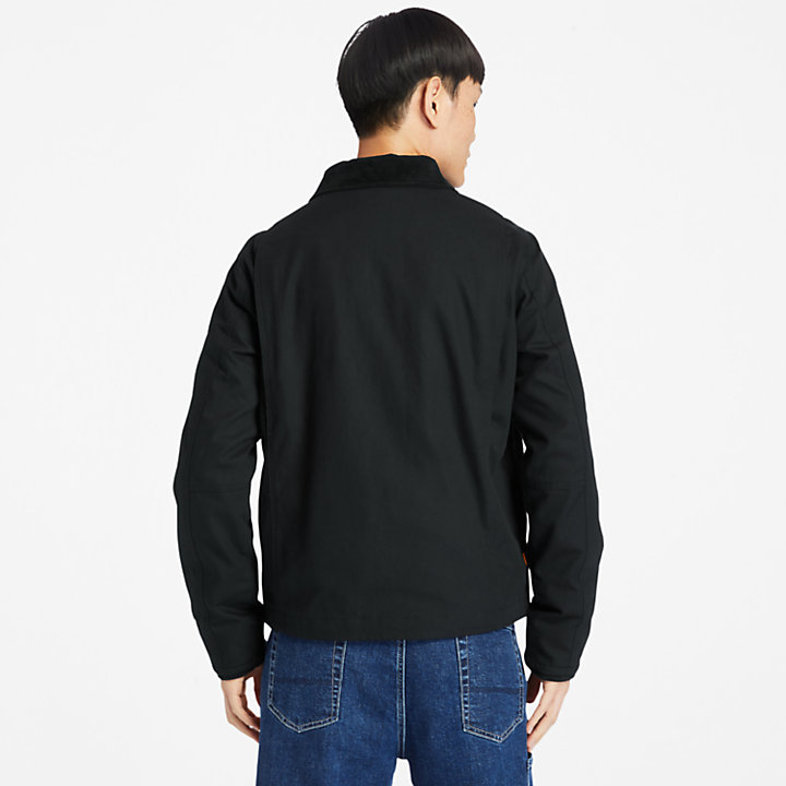 Chore Jacket for Men in Black-