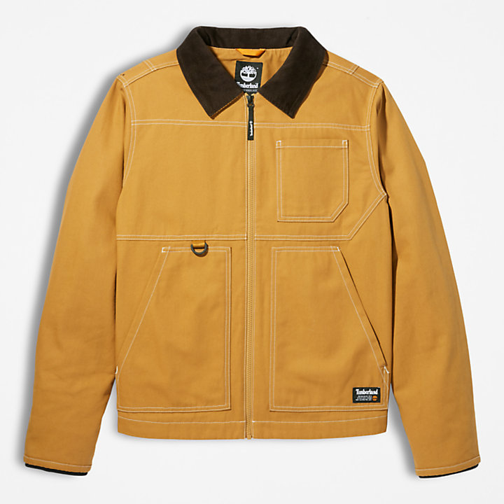 Chore Jacket for Men in Yellow-