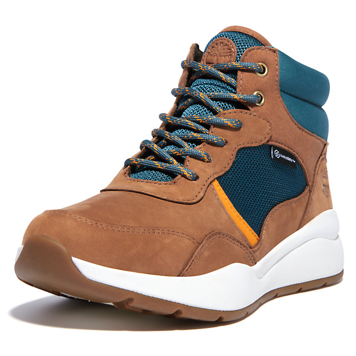 Women's Boroughs Project Waterproof Hiking Boots in Brown-
