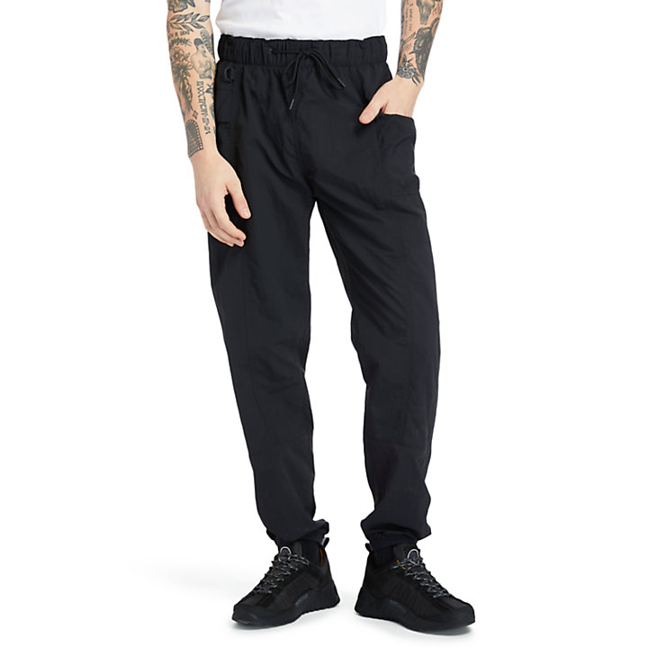 Outdoor Archive Trail Tracksuit Bottoms for Men in Black-