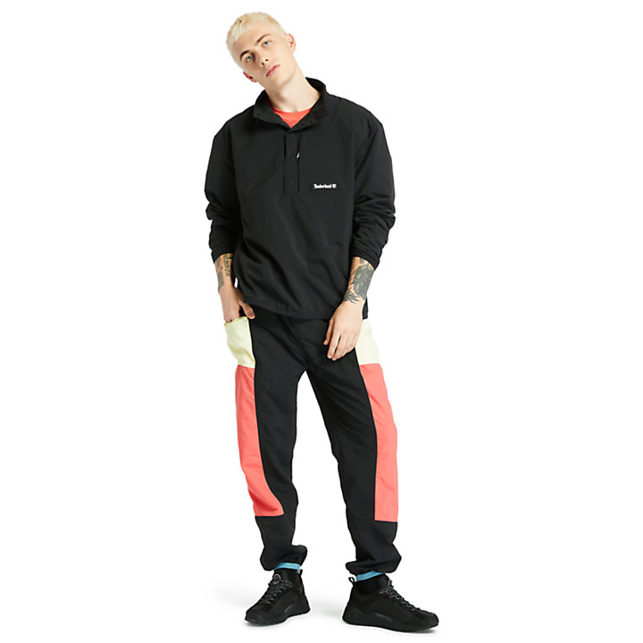 Outdoor Archive Trail Tracksuit Bottoms for Men in Red/Black-