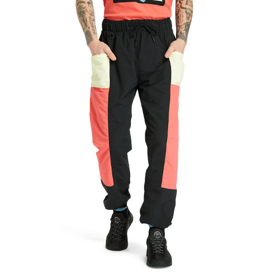 Outdoor Archive Trail Tracksuit Bottoms for Men in Red/Black | Timberland