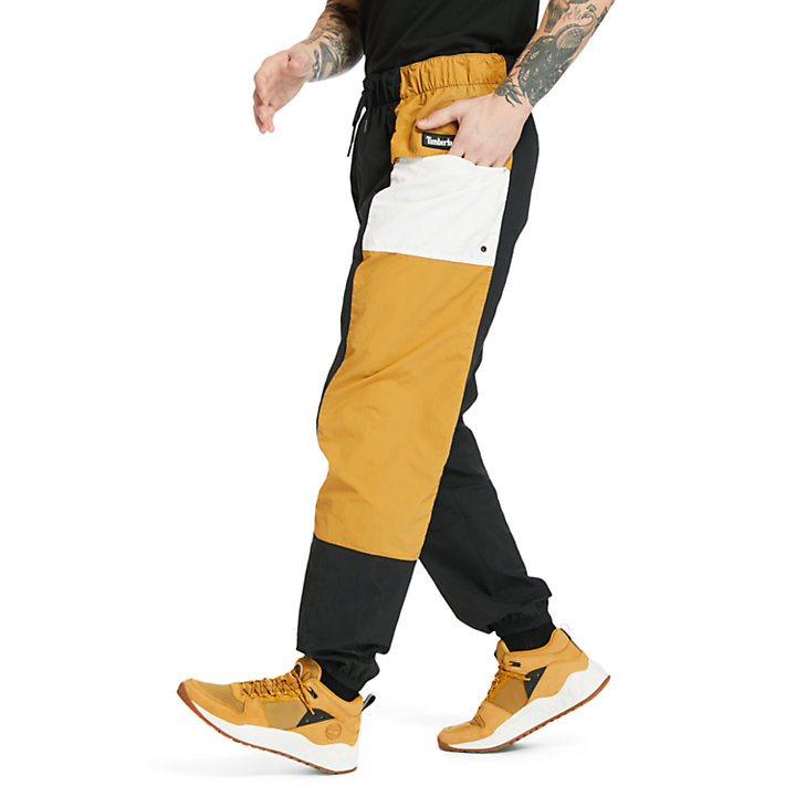 Outdoor Archive Trail Tracksuit Bottoms for Men in Yellow/Black-
