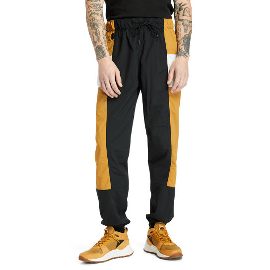 Outdoor Archive Trail Tracksuit Bottoms for Men in Yellow/Black | Timberland