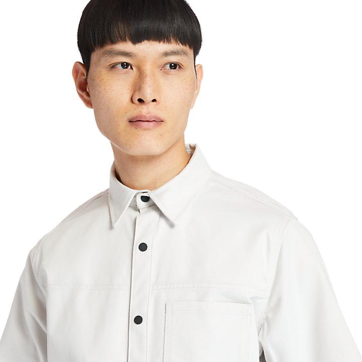 Utility Shirt for Men in White-