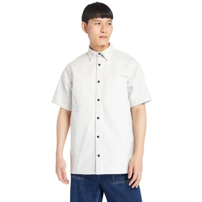 Utility+Shirt+for+Men+in+White