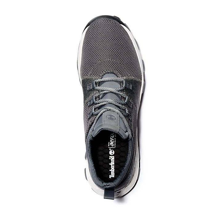 Brooklyn Flexi Knit Sneaker for Men in Grey-