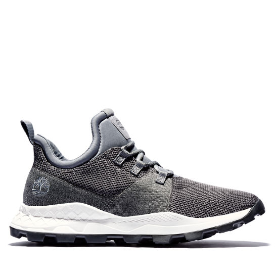 Brooklyn Flexi Knit Sneaker for Men in Grey | Timberland