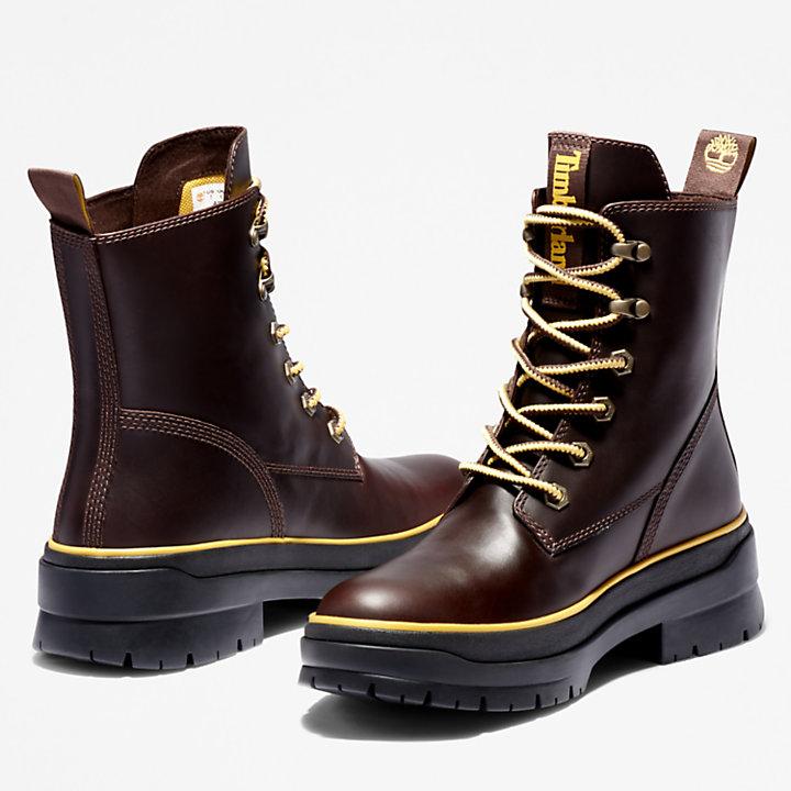 Malynn EK+ Mid Lace-Up Boot for Women in Dark Brown-
