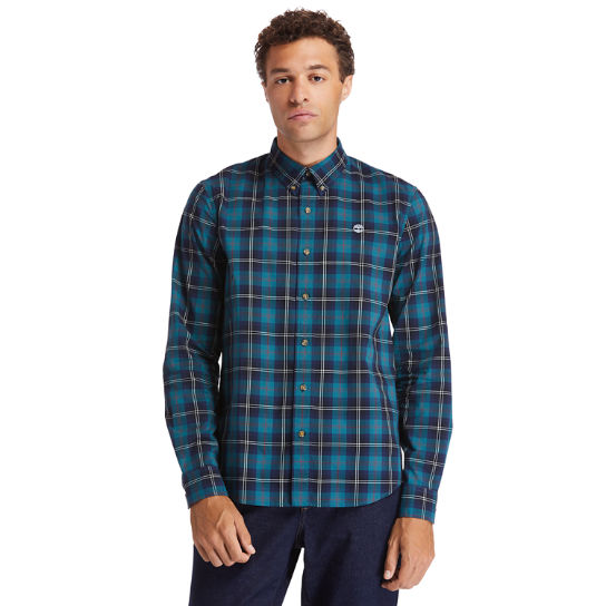 Eastham River Tartan Shirt for Men in Green | Timberland
