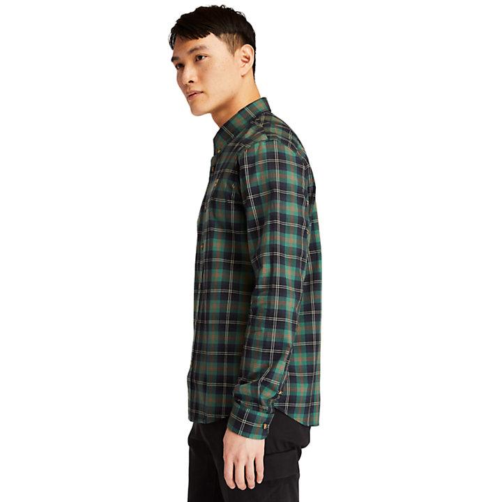 Chemise écossaise Eastham River pour homme en vert-