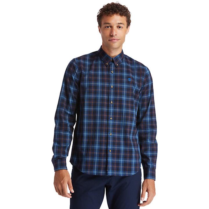 Eastham River Tartan Shirt for Men in Blue-