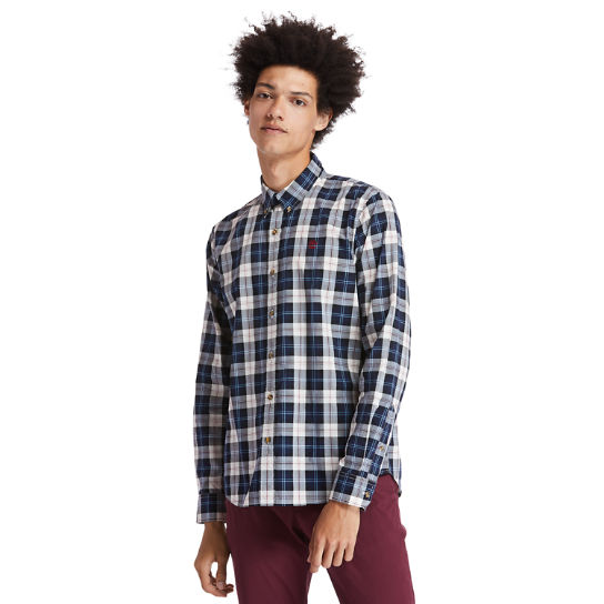 Eastham River Tartan Shirt for Men in Beige | Timberland
