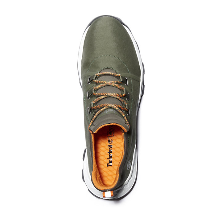 Brooklyn Fabric Oxford for Men in Green-