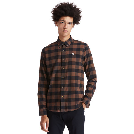 Mascoma River Check Shirt for Men in Brown | Timberland