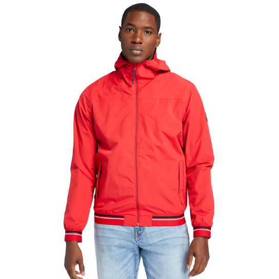 Coastal Cool Bomber Jacket for Men in Red | Timberland