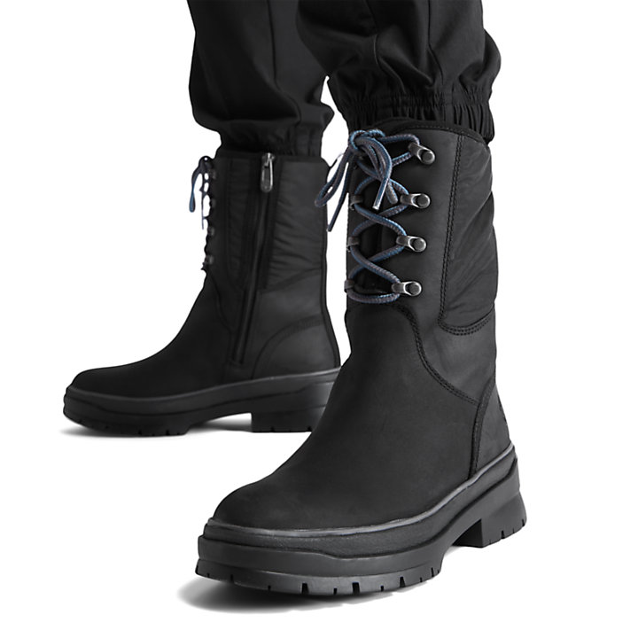 Malynn High Boot for Women in Black-