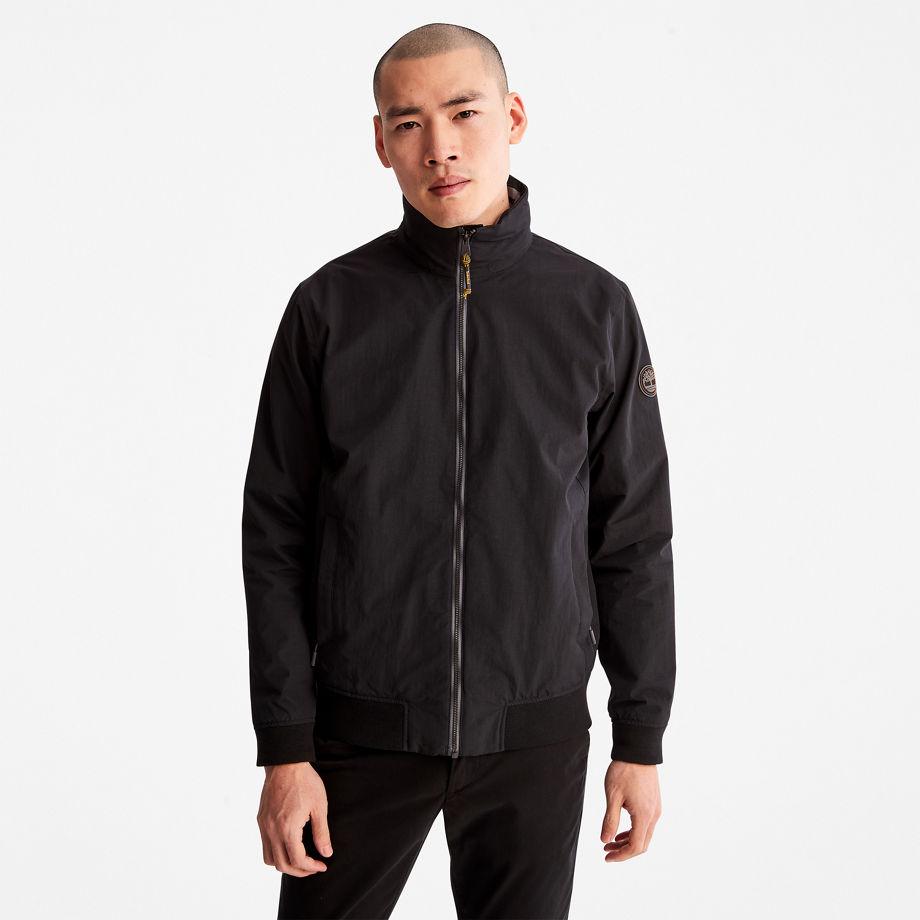 Timberland Mount Lafayette Bomber Jacket For Men In Black Black, Size S