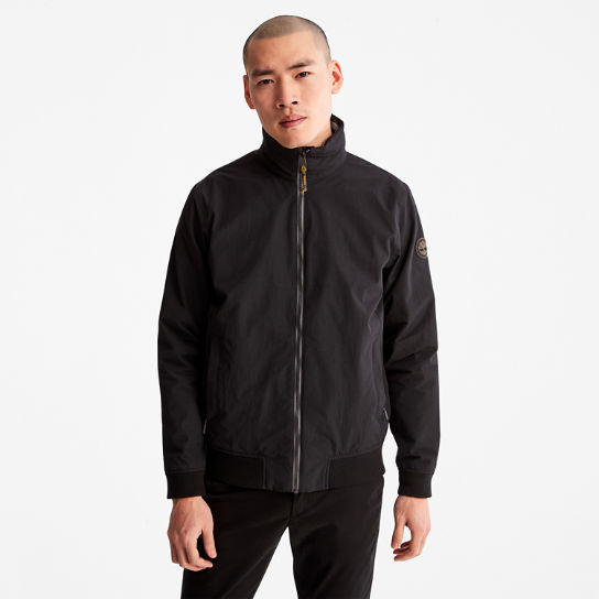 Mount Lafayette Bomber Jacket for Men in Black | Timberland