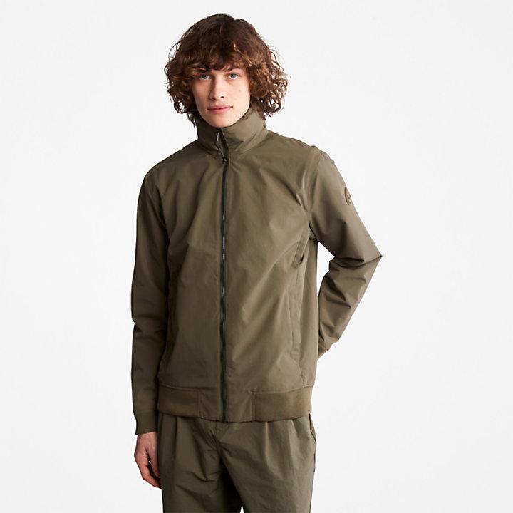 Mount Lafayette Bomber Jacket for Men in Green-