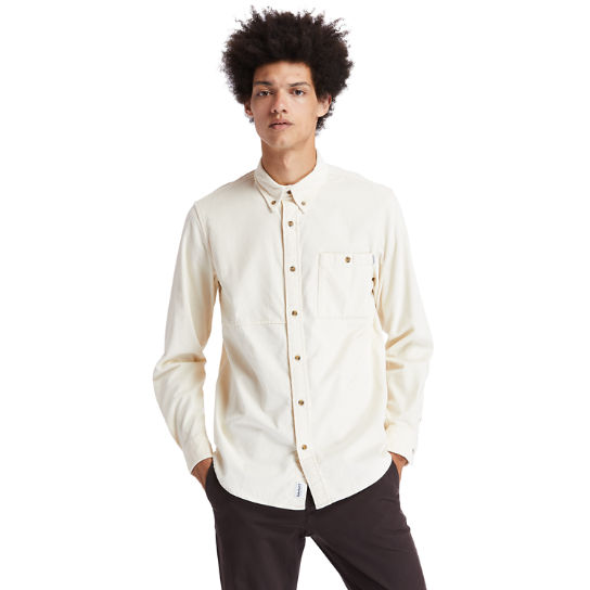 Mascoma River Corduroy Shirt for Men in Beige | Timberland