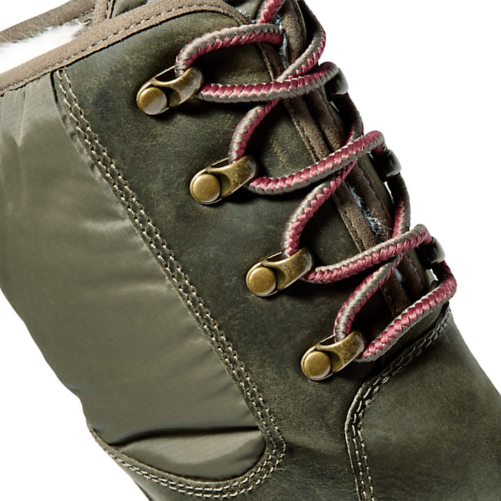 Malynn High Boot for Women in Green-