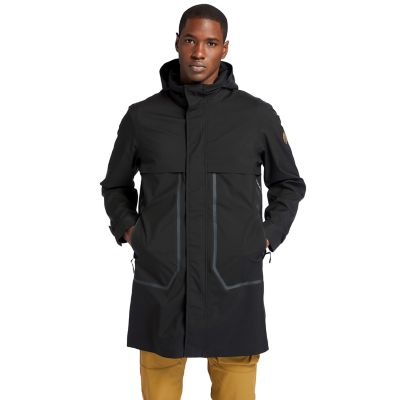 Waterproof+Travel+Parka+for+Men+in+Black