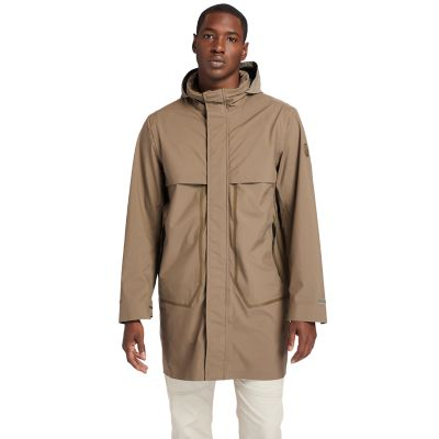 Waterproof+Travel+Parka+for+Men+in+Brown