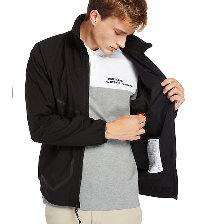 Chaqueta Waterproof Sailor para Hombre en color negro-