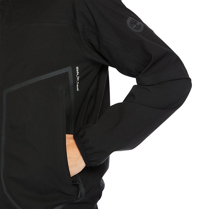 Waterproof Sailor Jacket for Men in Black-