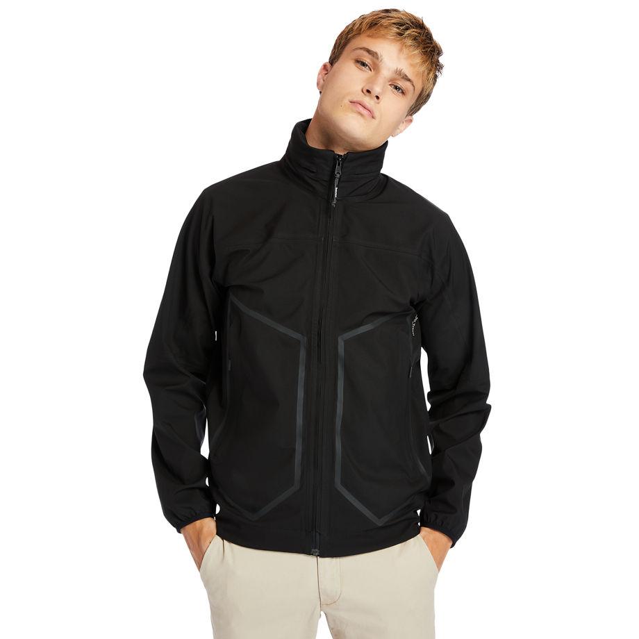 Timberland Waterproof Sailor Jacket For Men In Black Black, Size XL